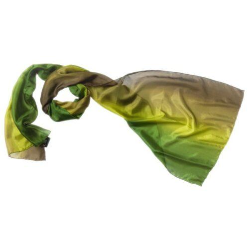 silketørklæde tørklæde oliven grøn 38
