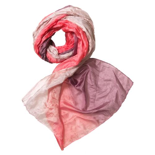 241 1658 rosa tørklæde silketørklæde