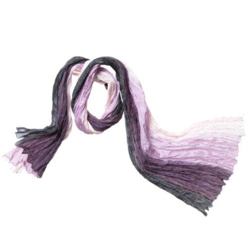 silketørklæde tørklæde 96 rosa lilla twistet