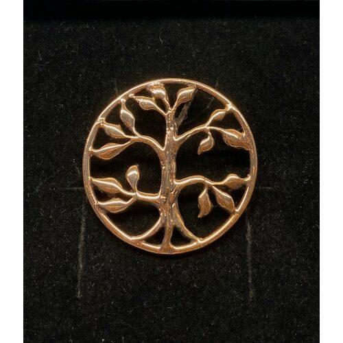 """Bronze Vikingevedhæng - Livets træ 5-grenet Yggdrasil, Vikinge vedhæng i bronze - Livets træ """"Yggdrasil - 5-grenet"""" vikingevedhæng bronze livets træ yggdrasil"""