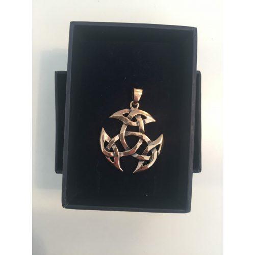 Vikingevedhæng i bronze - Det kosmiske hjul M