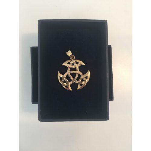 vikingesmykke - vikingevedhæng vedhæng bronze det kosmiske hjul