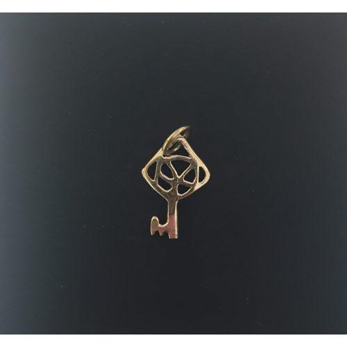 """Vikingevedhæng i bronze - """"Nøglen til Himlen"""" lille vikingesmykke - vikingevedhæng vedhæng bronze vikinge nøglen til himmeriget"""