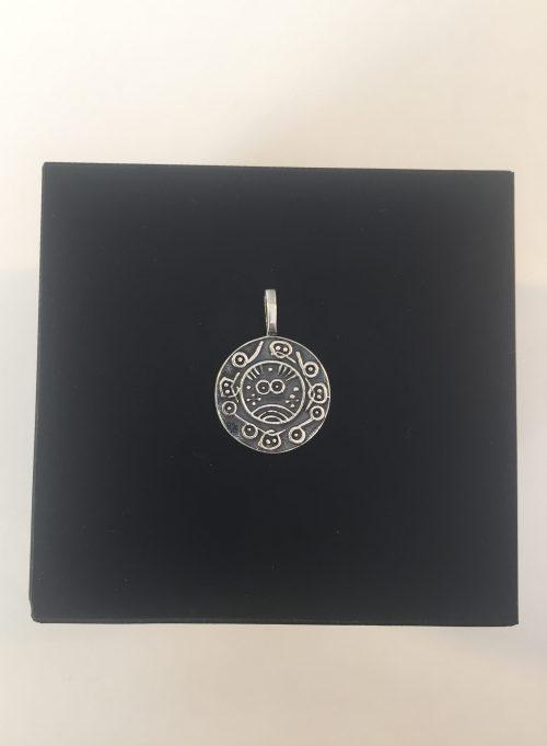 vikingesmykke vikingesmykker vedhæng i sølv wotan mønt