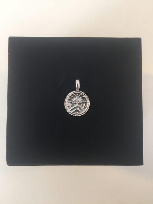 vikingesmykke vikingesmykker vedhæng i sølv ribemønt