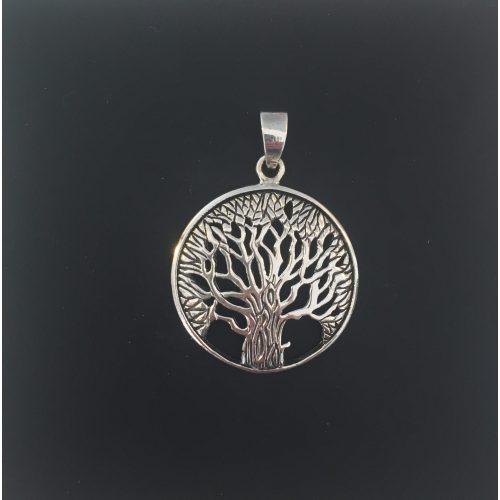 Vikingevedhæng i sølv - Livets træ Yggdrasil Eg