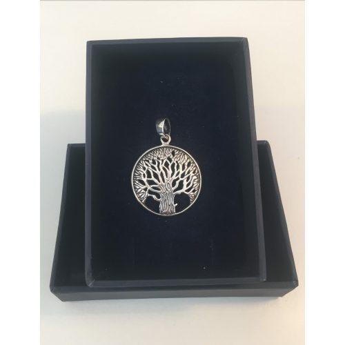 vikingesmykke - vedhæng livets træ yggdrasil i sølv