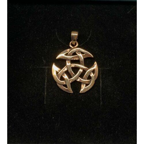Vikinge vedhæng i bronze - Det kosmiske hjul mellem, Vikinge vedhæng i bronze - Det kosmiske hjul mellem, Vikingevedhæng i bronze - Det kosmiske hjul, evigheden, det magiske tal tre, vikingevedhæng, vikingesmykke, bronzesmykke, museums smykker, museumssmykker, kopismykker, vikinge kopi, smykkefund, oldtidsfund, nordens ældste by, ribe, vikingeby, nordiske guder, nordisk mytologi, aser, vikingeguder, asatro, thor, odin, freja, frej, thyr, mjølner, fenris, loke, udgård, asgård, midgård, frigg, hugin, munin