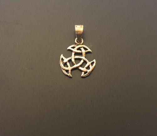 Vikinge vedhæng i bronze - Det kosmiske hjul S