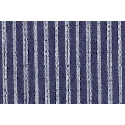 bondeskjorte blå stribet voksen 04 mørkeblå