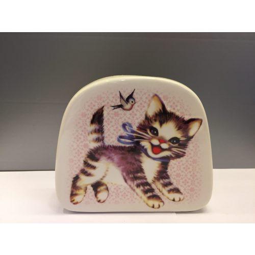porcelæn sparebøsse killing retro sparebøse katte