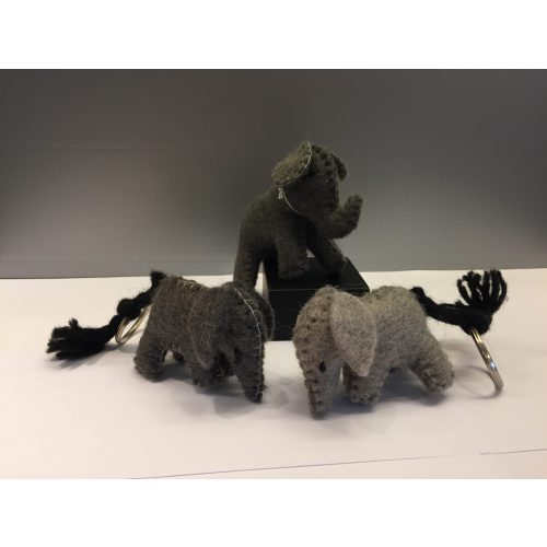 filt elefant og nøglering