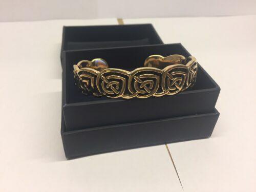 """Vikingearmbånd i bronze med keltisk flet """"Evigheden"""" vikingesmykker bronze armbånd med keltisk fletmønster evigheden"""