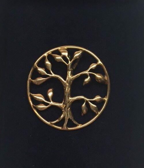 """Vikinge vedhæng i bronze - Livets træ """"Yggdrasil - 5-grenet"""" vikingevedhæng bronze livets træ yggdrasil"""