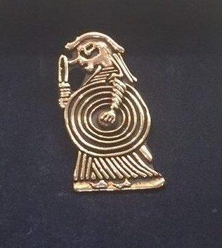 """Vikingevedhæng i bronze - """"Valkyrie"""""""