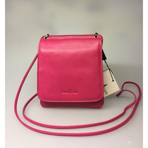 Taske med integreret pung (5513) - kalveskind Pink