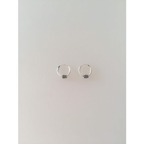 creoler øreringe hoops sølv