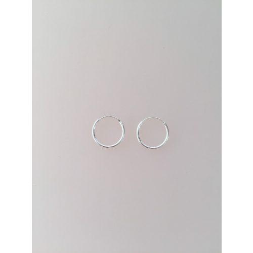 Creoler i sølv Ø 14 mm glatte hoops, Ø 14 mm Creoler sølv - glatte hoops, creol, creoler, hoops, ørenringe, øreringe, runde, sølv, sterling sølv, ægte sølv, biti, ribe, billige, flotte, god kvalitet