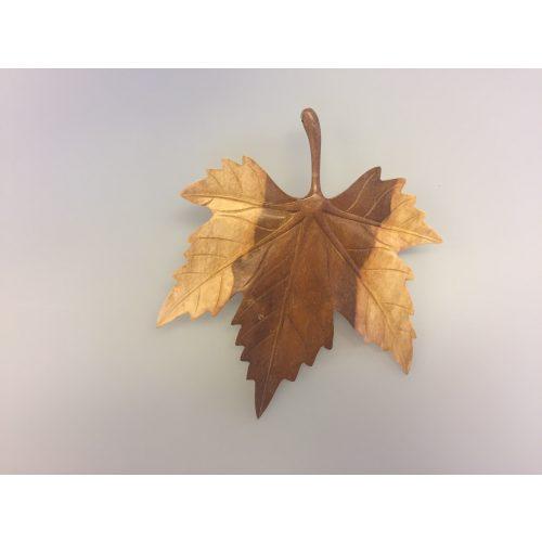 Ahornblad - Håndskåret af Træ -