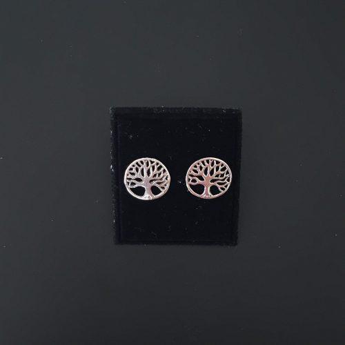 livets træ yggdrasil livstræet vikingesmykker viking smykke øreringe sølv ørestikker