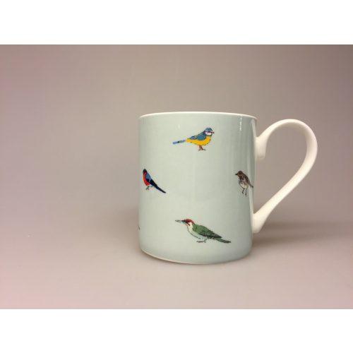 Krus - Ben Porcelæn - Fugle