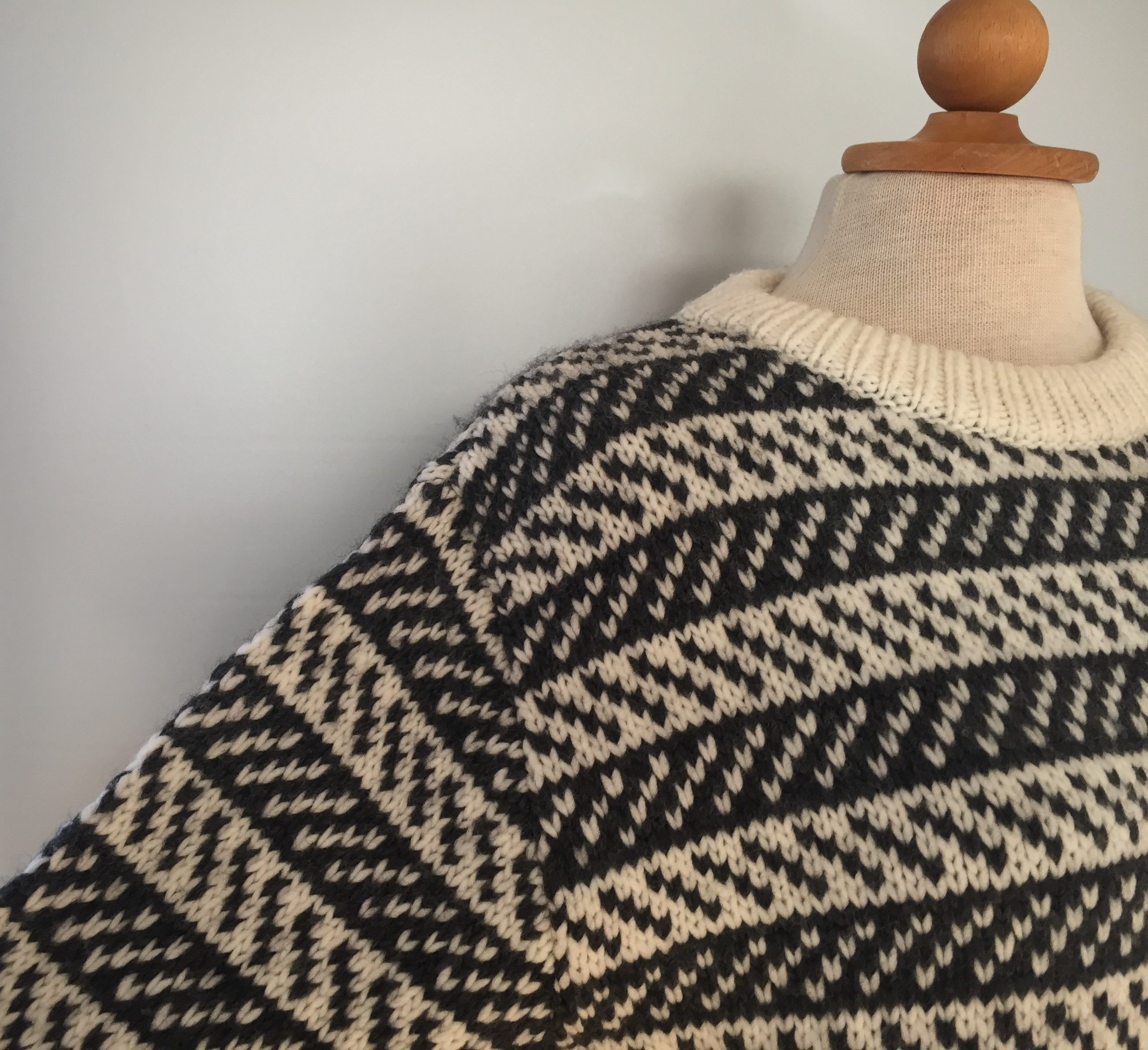 Fuza - merinould - Dane Pullover koks/natur