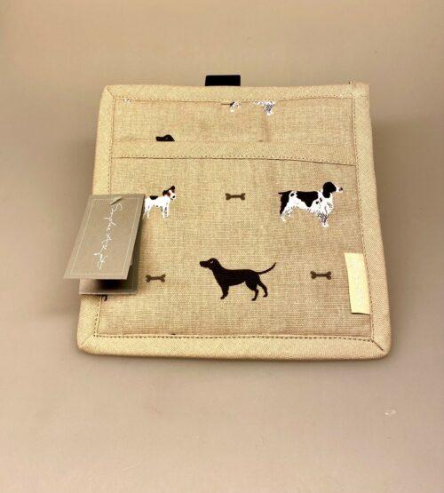 Grydelap - bomuld med tryk - forskellige Hunde