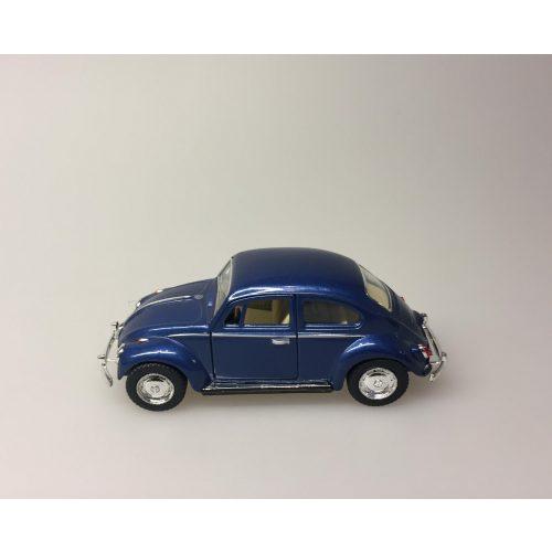 """Bil metal VW - Folkevogn Bobbel - """"classic"""" Blå Metallic"""