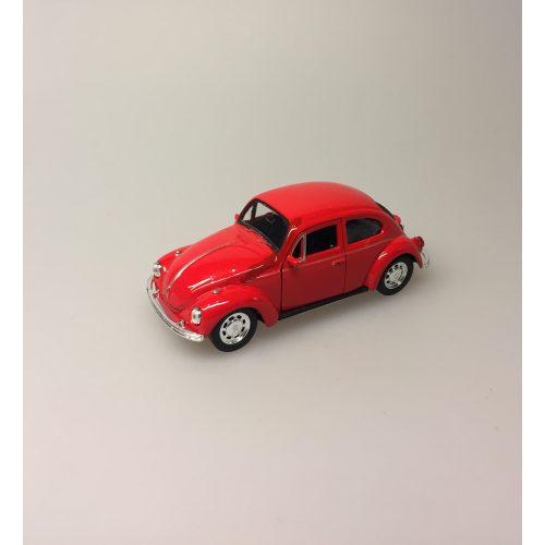 """VW Folkevogn Bobbel Classic - Rød,Bil metal VW - Folkevogn Bobbel - """"classic"""" Rød"""