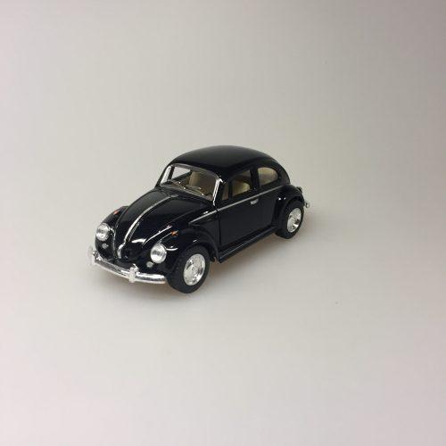 """Bil metal VW - Folkevogn Bobbel - """"classic"""" Sort"""