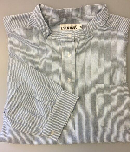 Bondeskjorte i bomuld - Mælkedreng (stof 14), voksen