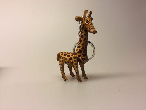 Nøglering af Kernelæder - Giraf
