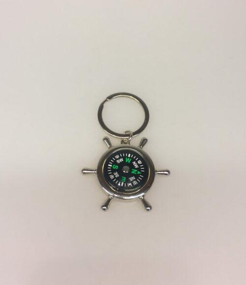 Nøglering - Ror med kompas