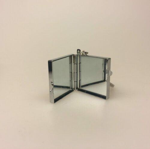 Nøglering med Spejl dåse