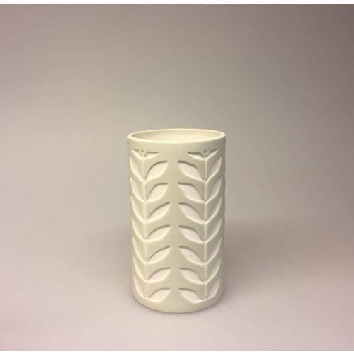 Fyrfadsstage - Vase med Blade natur