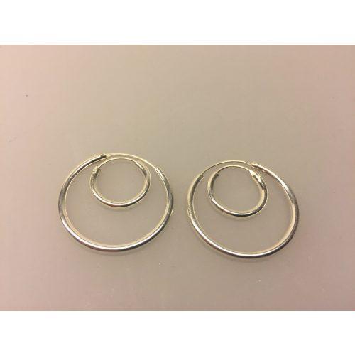 Ø 14 mm Creoler sølv - glatte hoops, sølv, 2mm tykkelse, glatte hoops, sølv øreringe, hoops, ørenringe, kraftige, små, ægte, ægte sølv, sterling sølv, sterlingsølv, nikkelfri, billige, kvalitet, cool, smarte, klassiske, biti, ribe