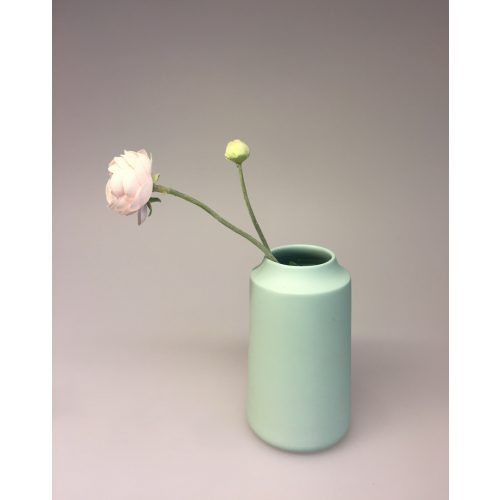 Trine Rytter keramik - Royal vase pastelgrøn, Trine Rytter keramik, håndlavet, keramik, dansk, design, kunsthåndværk, Trine Rytter, kunst, vase, biti, ribe, unika, indretning, interiør, interior, keis og fiedler