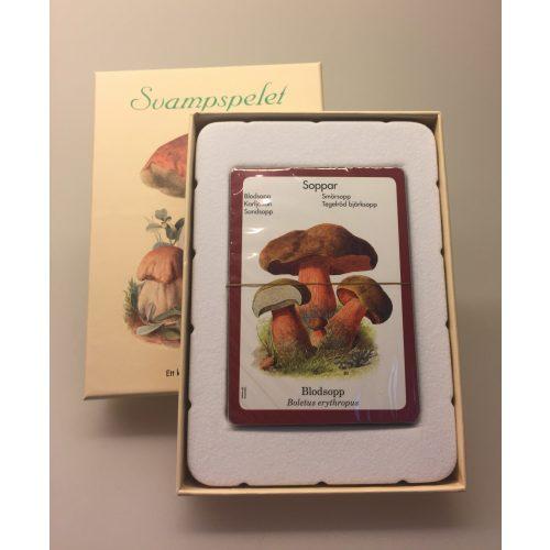 Kortspil - Svampe, svampespil, svampespillet, paddehatte, svampefamiler, svampejagt, efterår, naur, naturen, mad fra naturen, spil, kortspil, familiehygge, sommerhus, giftige svampe, spiselige svampe, lækre svampe, lærerigt, svensk, svensk spil, småland, emil, astrid lindgren, elsa beskow, madicken, grynet,