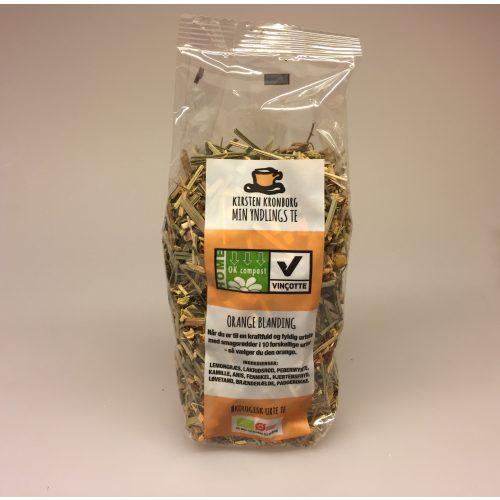 Min yndlings te fra Kirsten Kronborg - Orange blanding ,Min yndlings te fra Kirsten Kronborg - Rosa blanding ,øko, økologisk, urtete, urtethe, herbal tea, herbs, bio, bionedbrydelig, naturlig, friske, urter, ikke bitter, lækker, frisk, dansk, komostabel, kompostable, præsentabel, gave, gaveide, værtindegave, ting med te, te gave, hyggelig, biti, ribe,