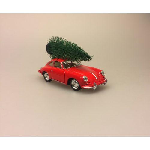Modelbil Porche med juletræ rød, old timer, gamle biler, old school, bil, modelbil, rød, julebil, bil med juletræ, bil med juletræ på taget, bil med grantræ, moderne julepynt, julen 2019, sportsvogn, racerbil, veteran bil, veteranbil, lækker, luksus, samler på biler, cool, lækker kvalitet, skøn, sjov, flot, biti, ribe, veterantræf, hovedengen