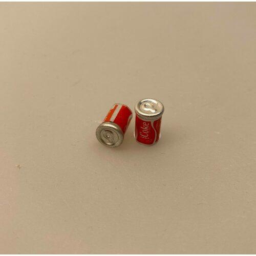 miniature Cola Dåse, cola, coca cola, coke, coladåse, dåsecola, sodavand, sodavandsdåse, dåsesodavand, mini, miniature, micro, dukkehus, dukkehusting, dukkehustilbehør, sangskjuler, gavekort, ide, symbolsk, colaelsker, afhængig, cola addict, cola lover, biti, ribe