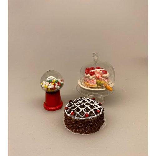 Miniature Lagkage med jordbærskum og flødetoppe ,Miniature Chokoladekage med glasur, Miniature Lille Chokolade lagkage, Miniature Lagkage Chokolade, Miniature Lagkage fersken og vafler, lagkage, dukkemad, legemad, mini kager, dukkehusmad, dukkehusting, dukkehustilbehør, miniatyre, miniaturer, sættekasser, sætterkasse, ting til, dekoration, barbie, 1:12,, Miniature Tyggegummi automat på fod, slik, slik automat, tyggegummiautomat, bobletyggegummi, bublegum, fredagsslik, miniature, miniaturer, dukkehus, til dukkehuset, købmandsbutik, dukketing, dukketilbehør, dukkehustilbehør, 1:12, doll house, sætterkasse, sættekasseting, nisseting, nissetilbehør, nissedør, nissehus, nissebo, juen2019, biti, ribe, slikbutik, cafe,