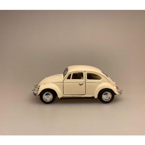 VW Folkevogn Bobbel Classic - Creme hvid, hvid, folkevogn, vw, bobbel, boble, bobble, nedgroet negl, asfaltbobbel, asfalt bobbel, asfalt boble, julebil, driving home for christmas, cristmas, xmas, julepynt, classic, klasssiks, finurlig, moderne, oldschool, old school, gammeldags, stilleben, gaveide, gamle biler, bil med træ, bil med gran, bil med juletræ, bil med grantræ, træ på taget, gran på taget, grantræ på taget, juletræ på taget, biti, ribe, kvalitet,