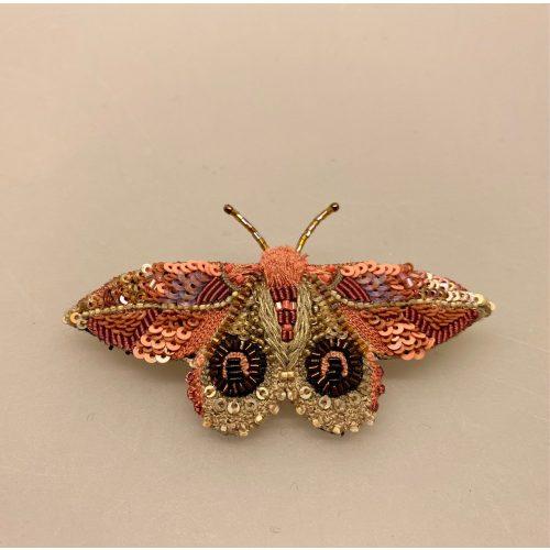 Håndlavet Broche Rosa sommerfugl, Håndlavet Broche Rosa sommerfugl,