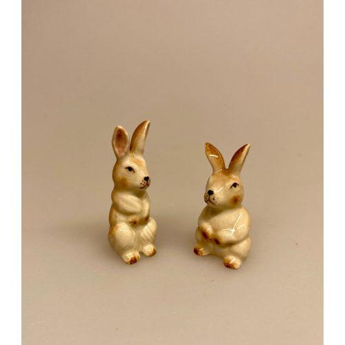 Hare figur porcelæn, porcelænsdyr, porcelænsfigur, dyr, dyrefigur, små, porcelænshare, kanin, påskehare, håndlavede, dyr, af porcelæn, harer, biti, ribe,
