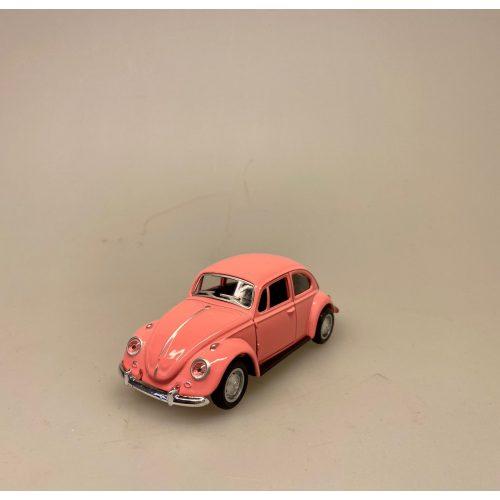 a VW Folkevogn Bobbel Classic - Lyserød, a VW Folkevogn Bobbel Classic - Rosa, lyserød, folkevogn, asfaltbobbel, asfalt, boble, bobbel, vw, volkswagen, nostalgisk, gammel, folkevognsbobbel, modelbil, VW, biti, ribe