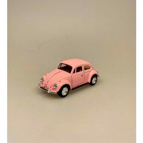 a VW Folkevogn Bobbel Classic - Rosa, lyserød, folkevogn, asfaltbobbel, asfalt, boble, bobbel, vw, volkswagen, nostalgisk, gammel, folkevognsbobbel, modelbil, VW, biti, ribe