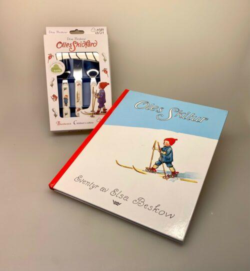 Elsa Beskow børnebestik - Putte i blåbærskoven, elsa beskow, astrid lindgren, børneservice, børnebestik, kniv, gaffel, ske, til børn, gave, gaveide, barnedåb, julegave, dåbsgave, yndigt, biti, ribe, nostalgisk, hyggeligt, dekorativt, pænt,